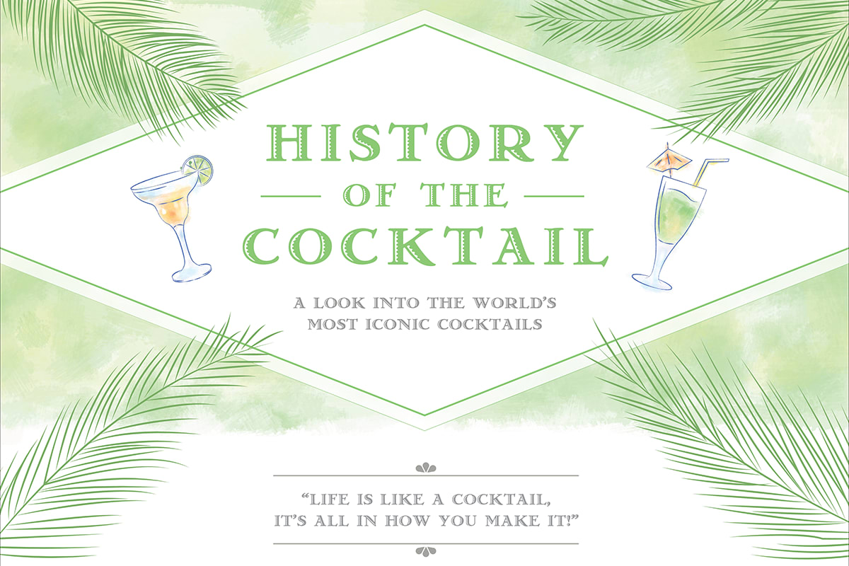 History of the Cocktail [Infographic]