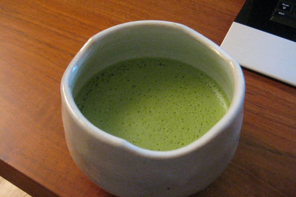 健康抺茶好處多