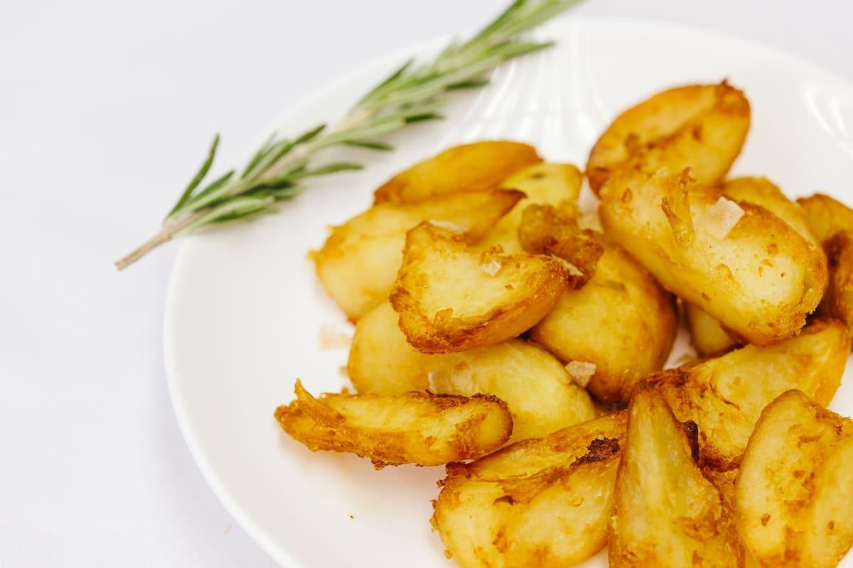 Duck-Fat Roasted Potatoes Recipe [Magazine Feature]