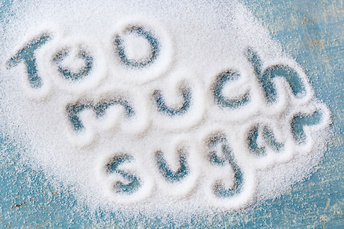 We Consume About 1000% More Sugar Per Day Than 200 Years Ago