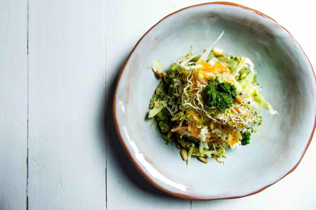 Pesto, Winter Vegetables & Quinoa Salad Recipe
