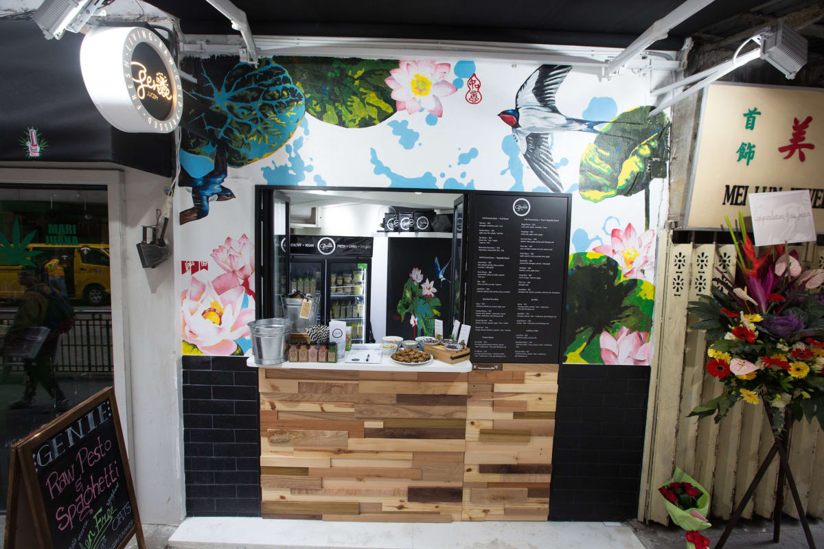 """NEW """"Teeny Genie"""" Juicery Store Opens on Hollywood Road"""