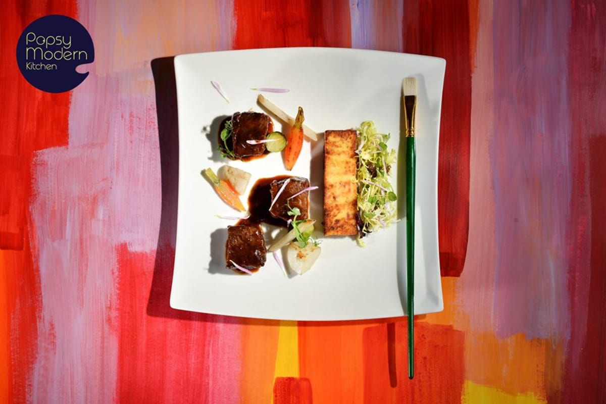 Food or Art? Why Not Both? @Popsy Modern Kitchen