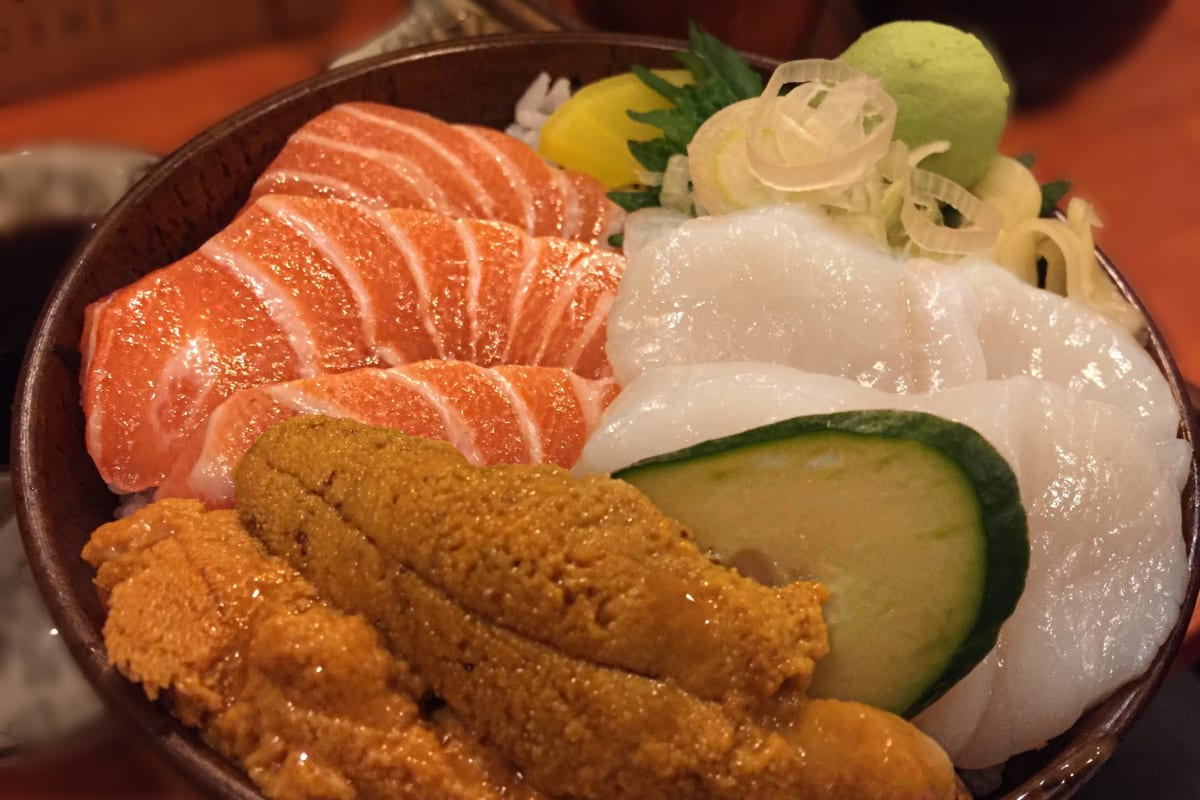 HK Local Gems - Sashimi Donburi