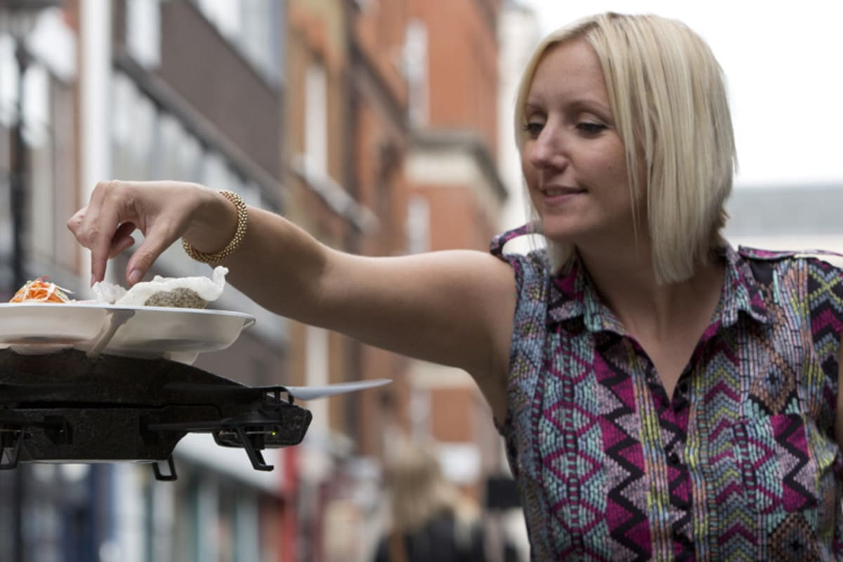 When Food and Drones Collide. Not Literally, We Hope. [VIDEO]