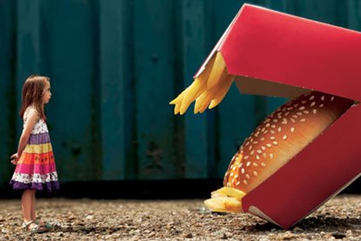 Is There Plastic in Fast Food?
