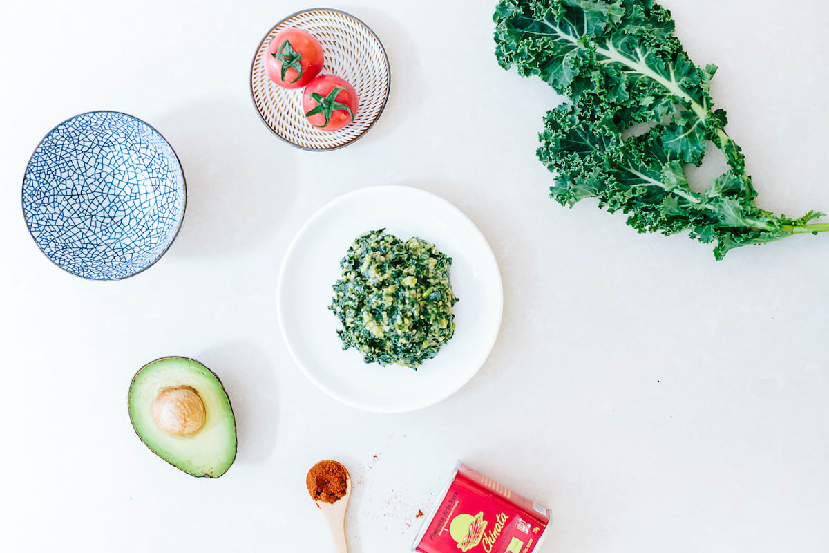 Avocado and Kale Salad: Recipe