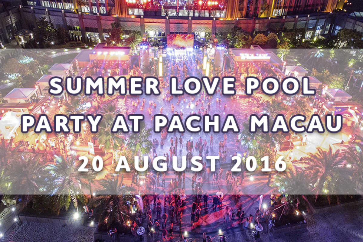 Giveaway: PACHA MACAU SUMMER LOVE POOL PARTY