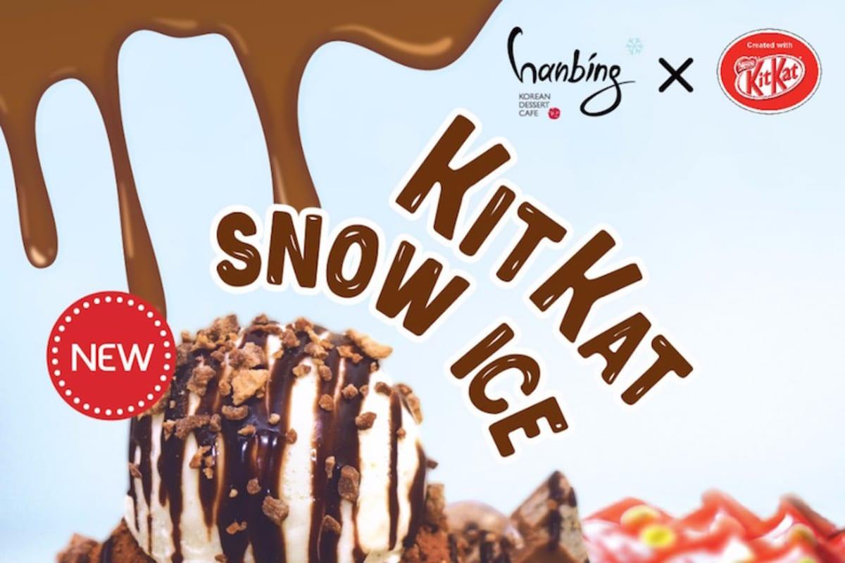 KitKat Snow Ice, Anyone?