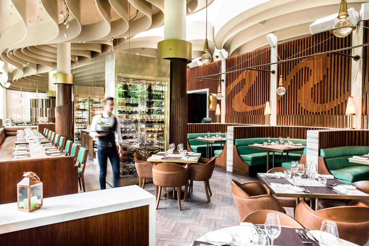 The Continental Reopens with New Look and Menu
