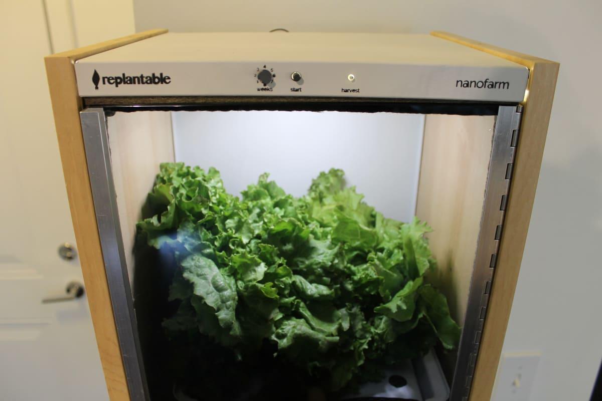 Nanofarm: The Food-Growing Appliance