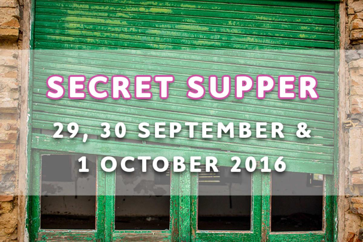 SECRET SUPPER HONG KONG