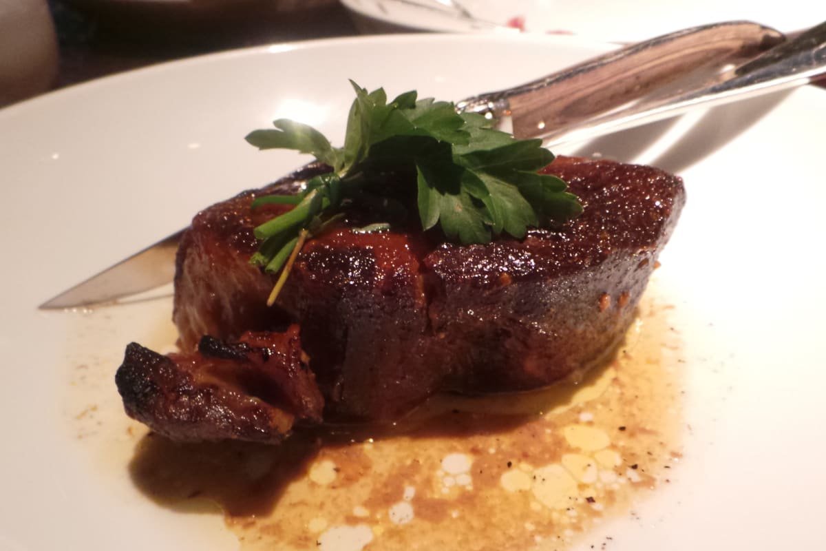 Review: Grand Hyatt Steakhouse's Mangalica Pork Menu