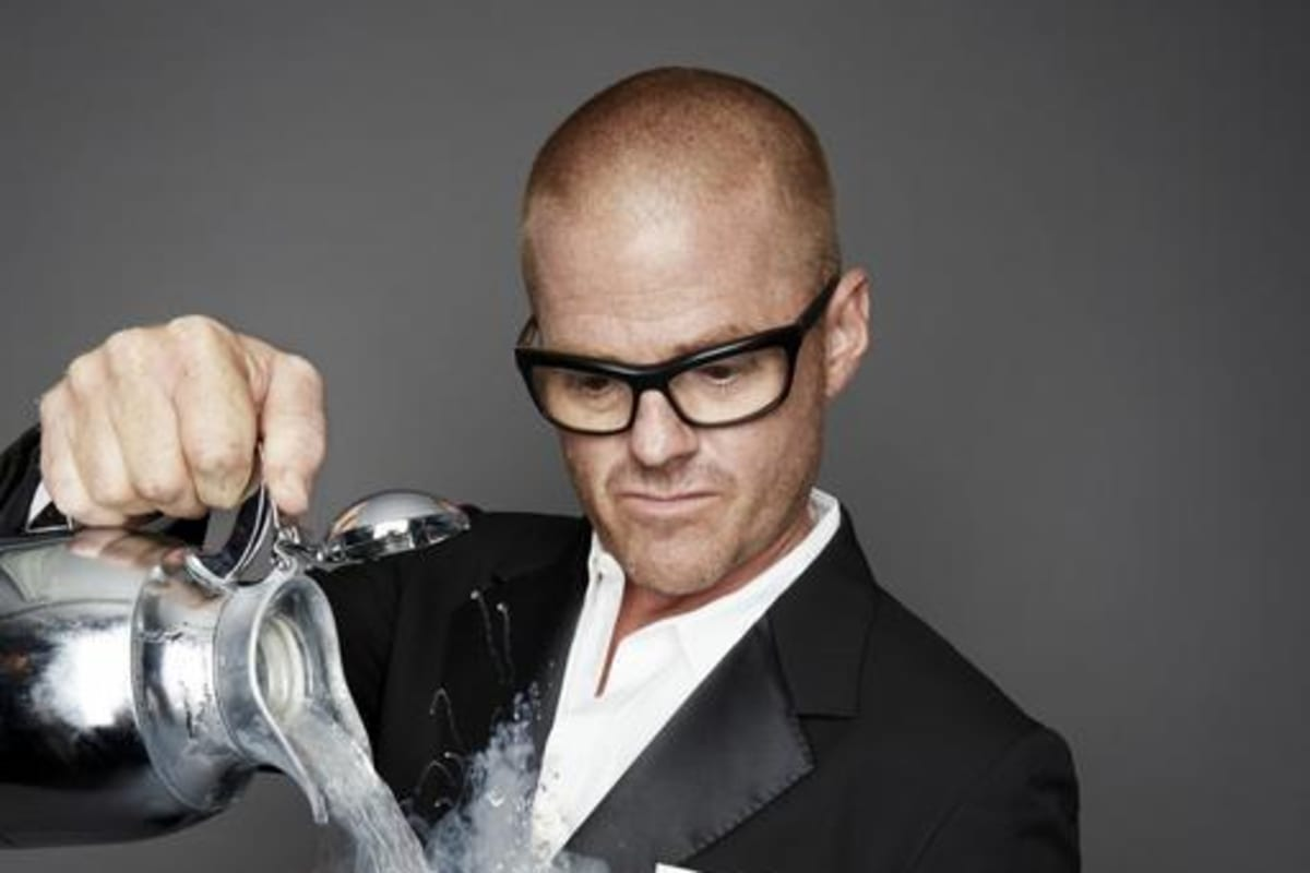 Heston Blumenthal Wins World's 50 Best Lifetime Achievement Award 2017
