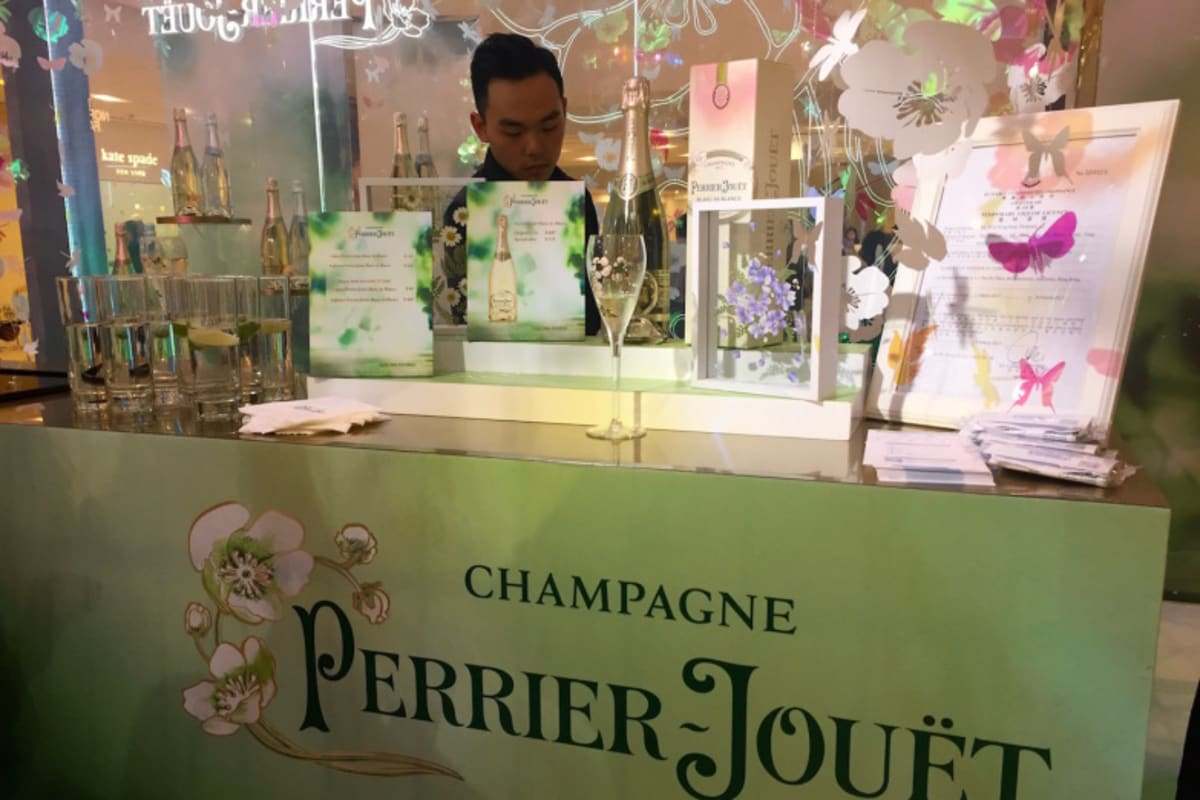 New Champagne Oasis at Pacific Place: Perrier-Jouët's Garden of Wonder