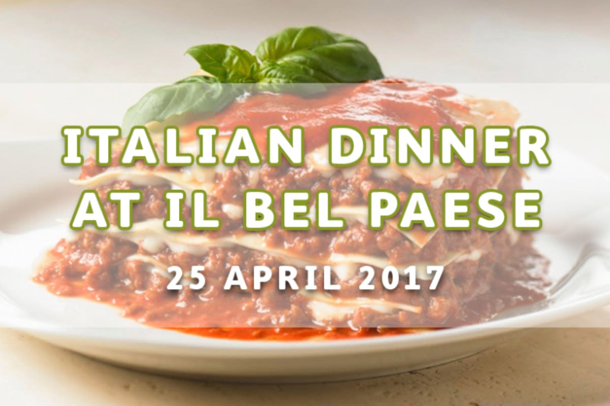Traditional Italian Dinner at ilBelPaese
