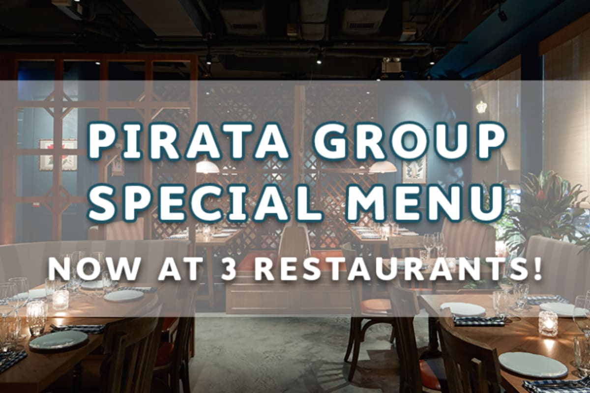 Special Menus: Pirata Group