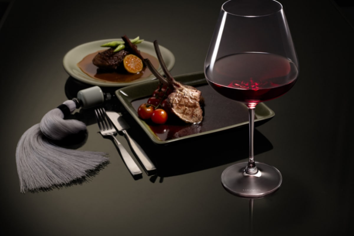 Glass Pairing Dinner with Lucaris