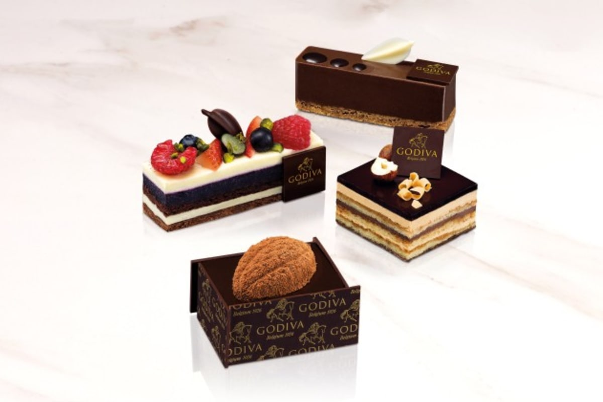 Godiva Hong Kong Launches Chocolate Pastries