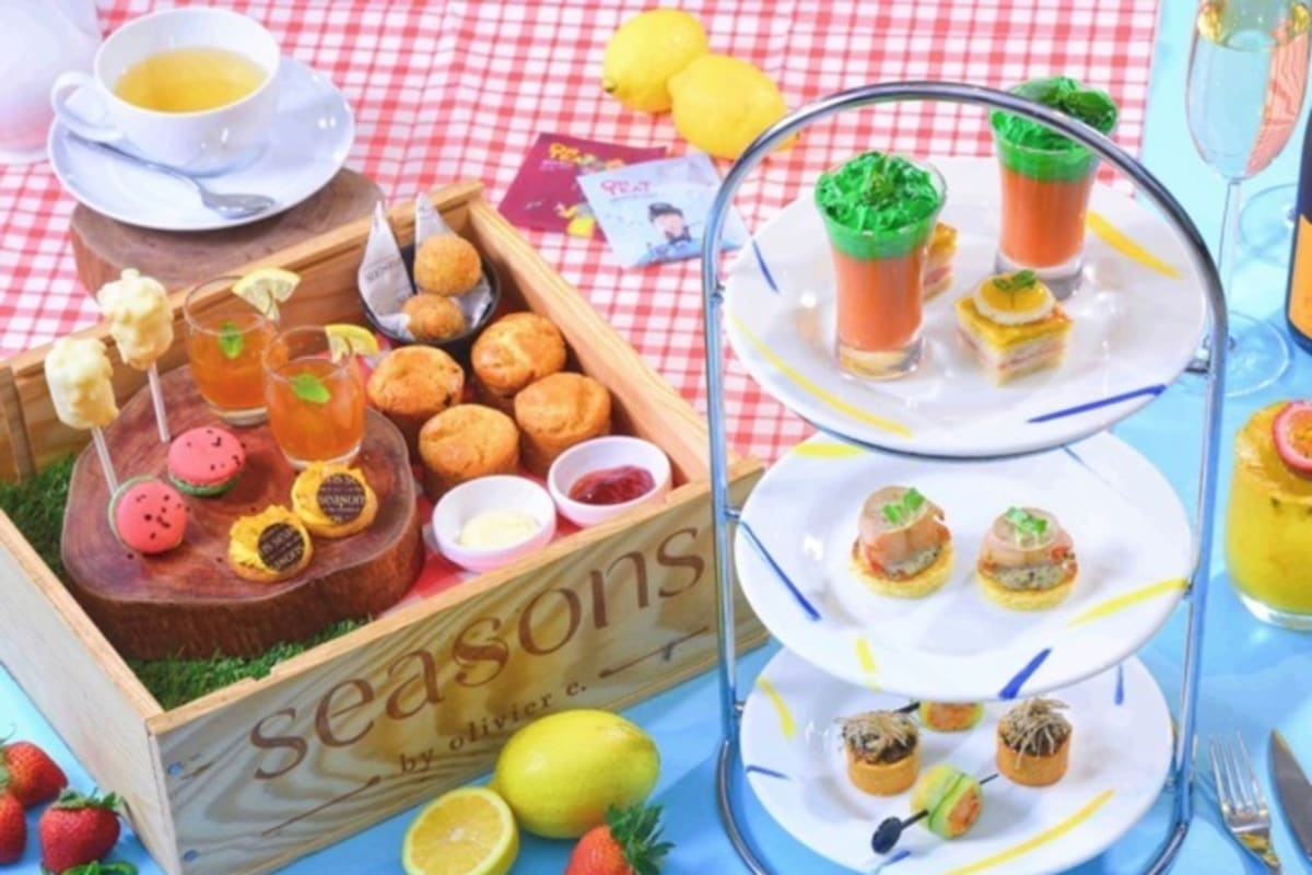 3 New Afternoon Teas to Try this Summer/Autumn 2017