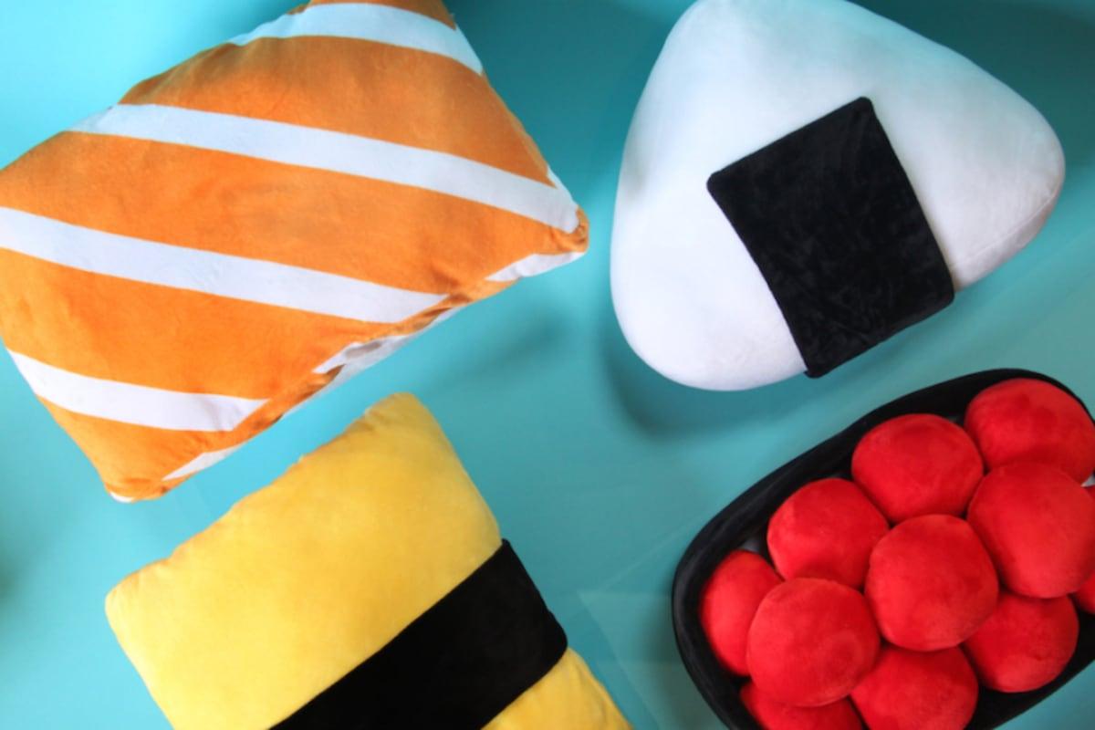 Pre-order: Puni Puni Sushi Plushies