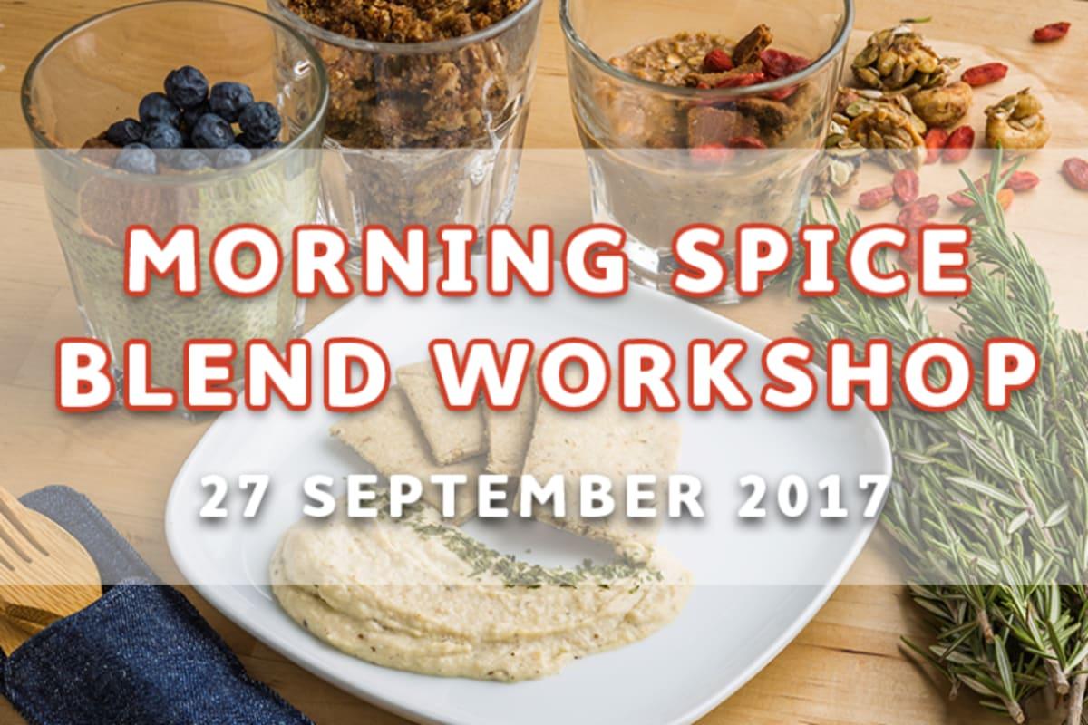 Morning Spice Blend Workshop by SpiceBox Organics