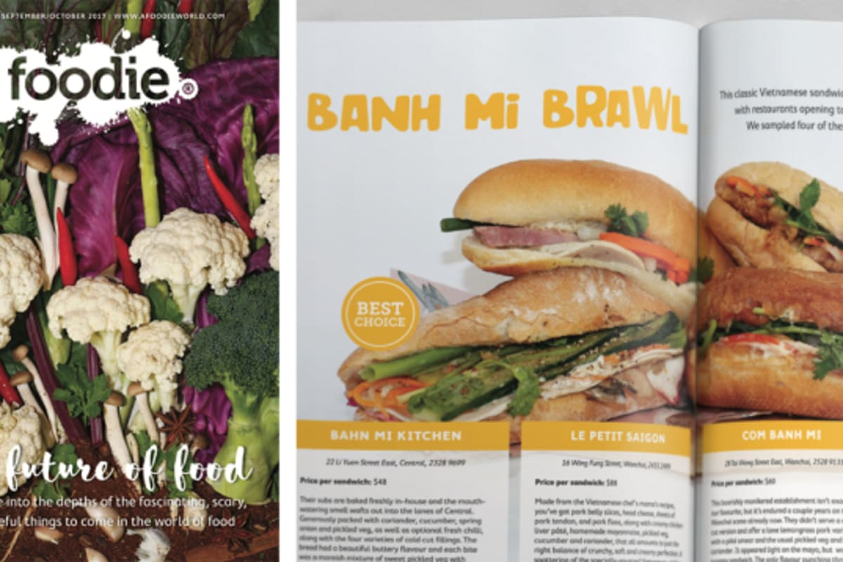 Foodie Magazine September/October 2017 Issue Out Now: The Future of Food