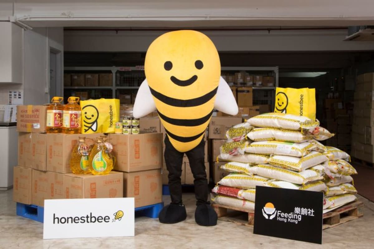 honestbee x Feeding HK: Launch of Online Charity Food Store