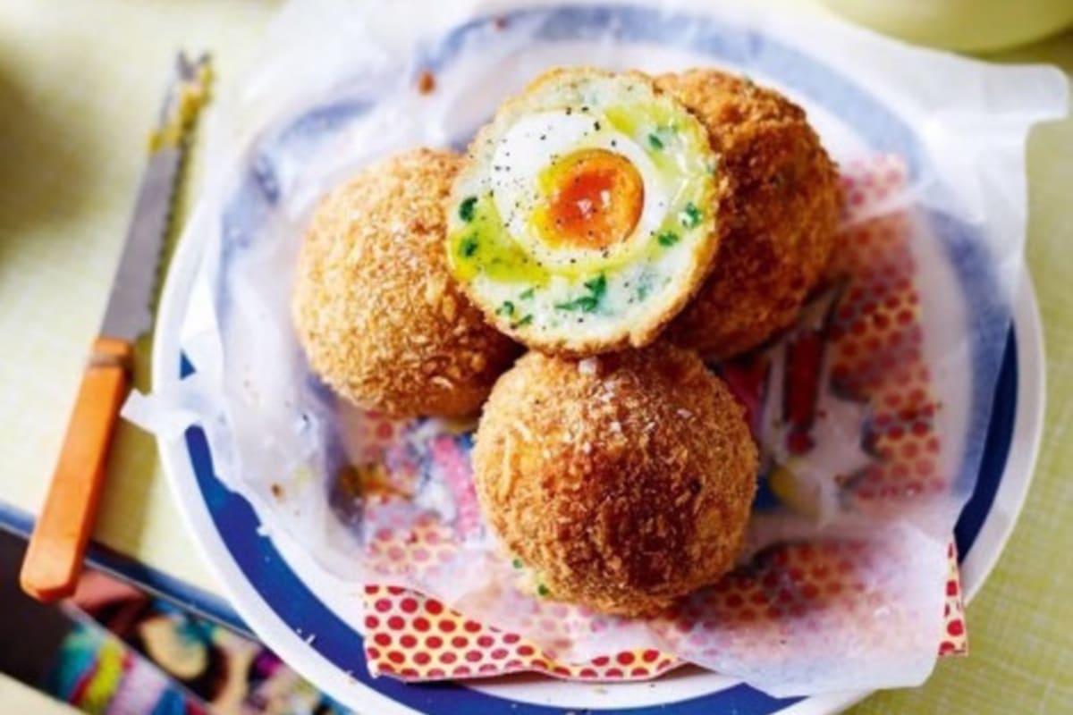 Recipe: Truffle and Parmesan Potato Scotch Eggs