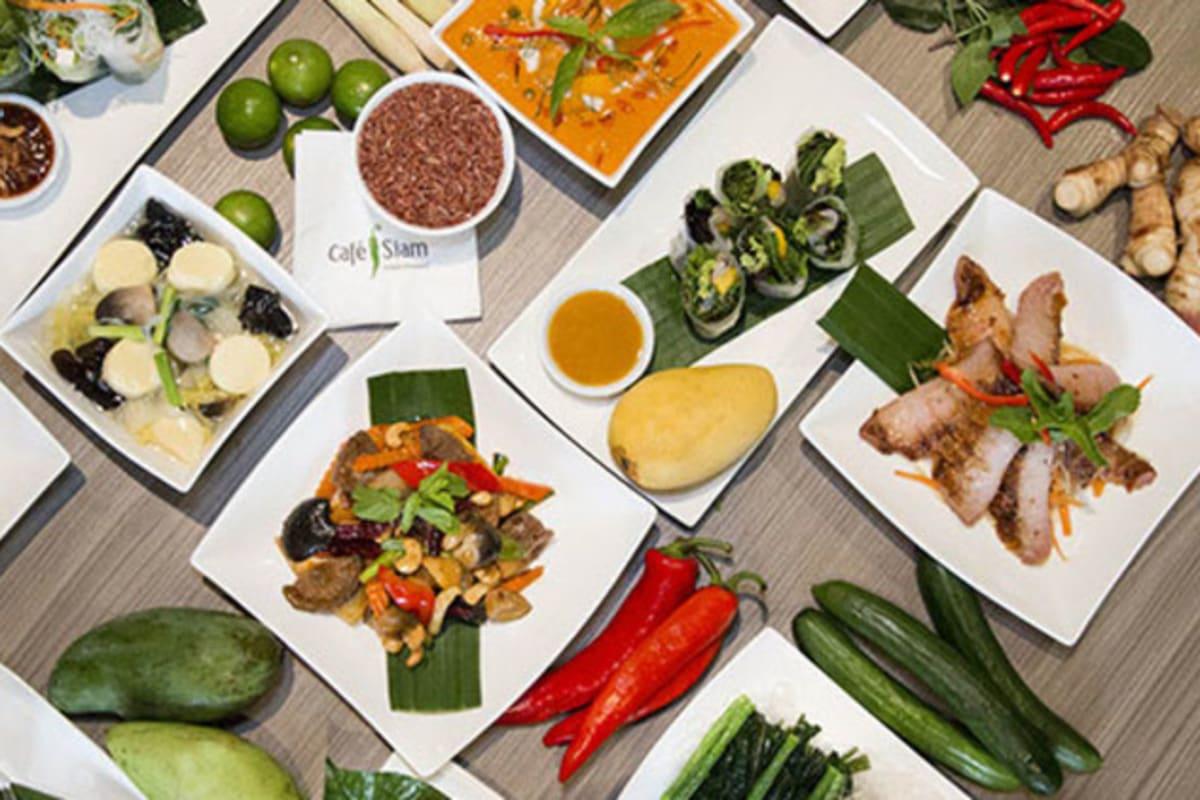 Café Siam Launches Health-conscious Menu
