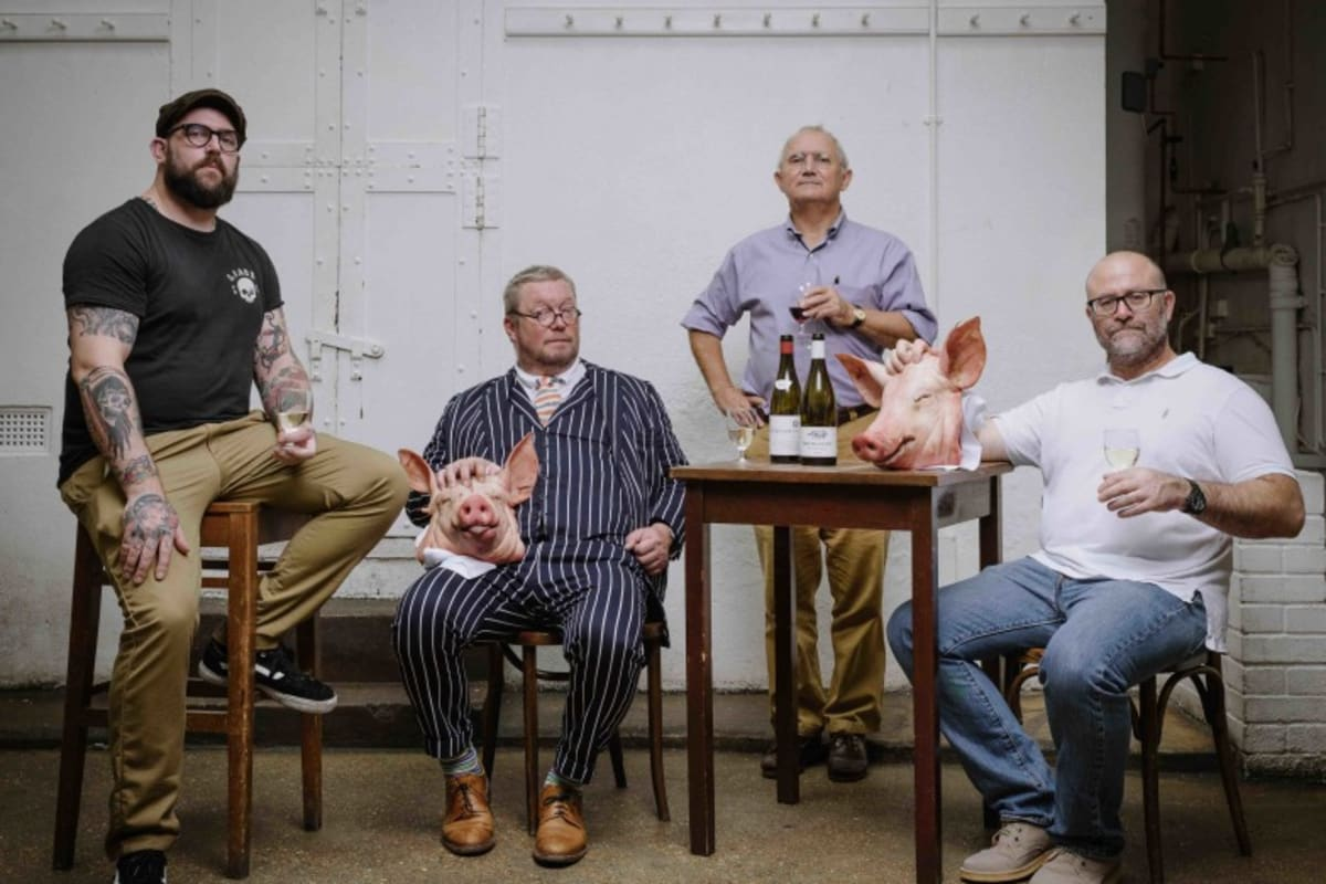 Chewin' the Fat with Fergus Henderson, Richard Turner, Trevor Gulliver and Nate Green