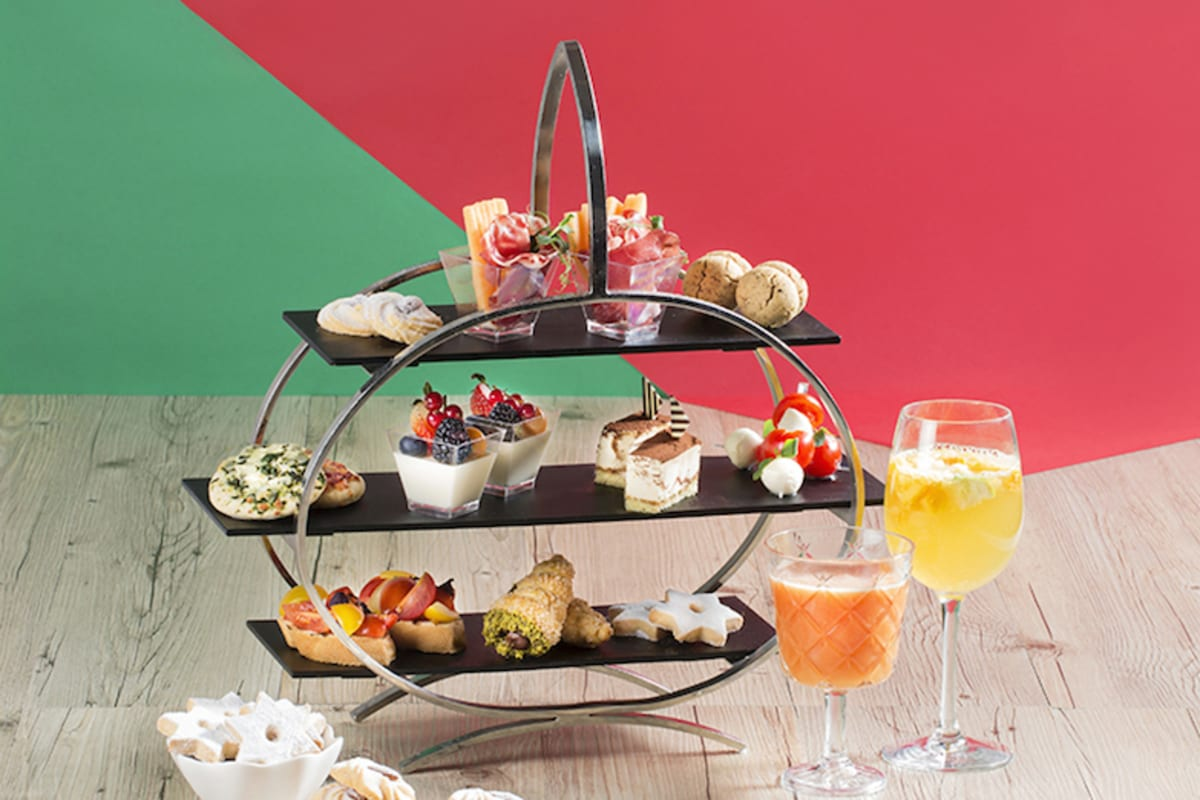 Italian Afternoon Tea Set at AVA, Hotel Panorama