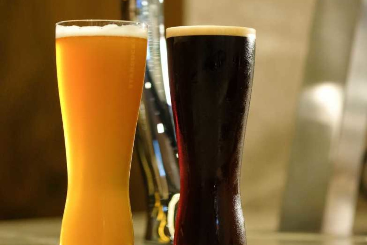 Starbucks Adds Alcoholic Brews at IFC Branch