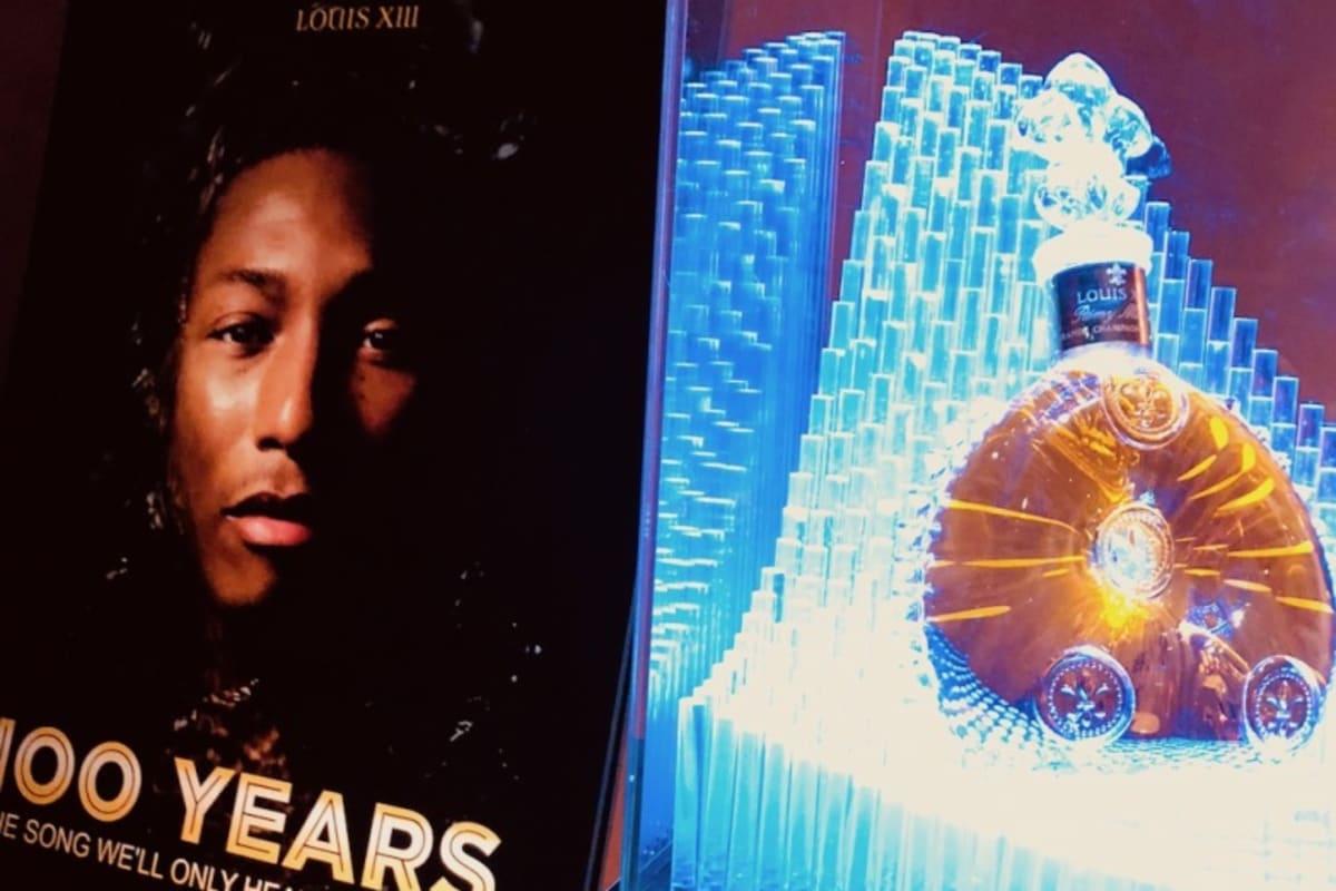 """LOUIS XIII Cognac x Pharrell Williams """"100 Years"""" Tour Debuts in Hong Kong"""
