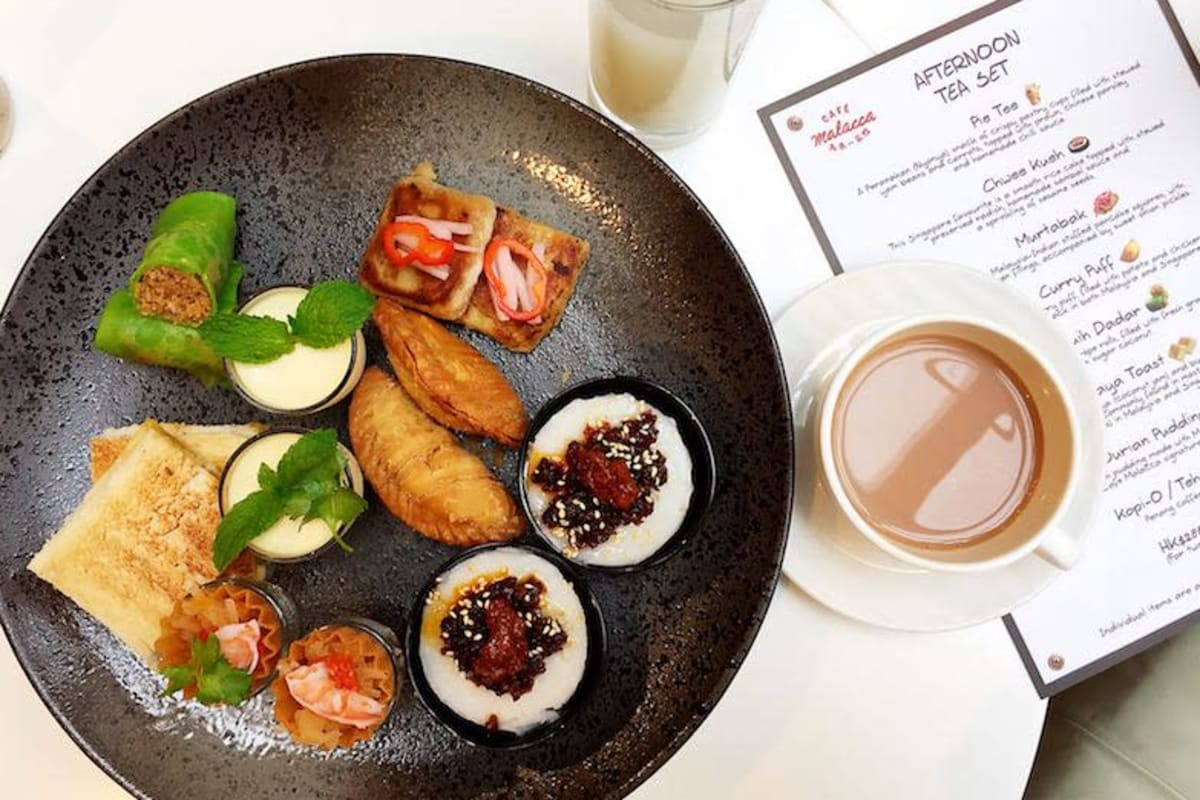 New Afternoon Tea: Southeast Asian Teatime Treat at Café Malacca