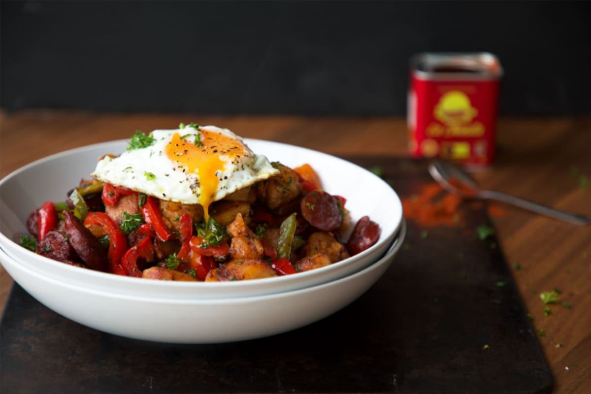 Recipe: Chorizo-and-Potato Hash