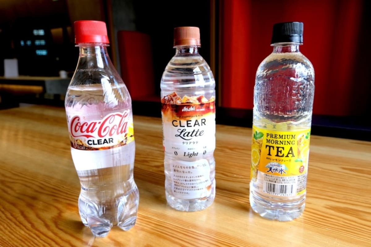 We Tried Clear Coke, Latte and Iced Lemon Tea from Japan