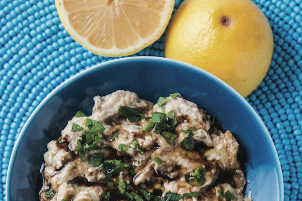 Recipe: Charred Aubergine Dip