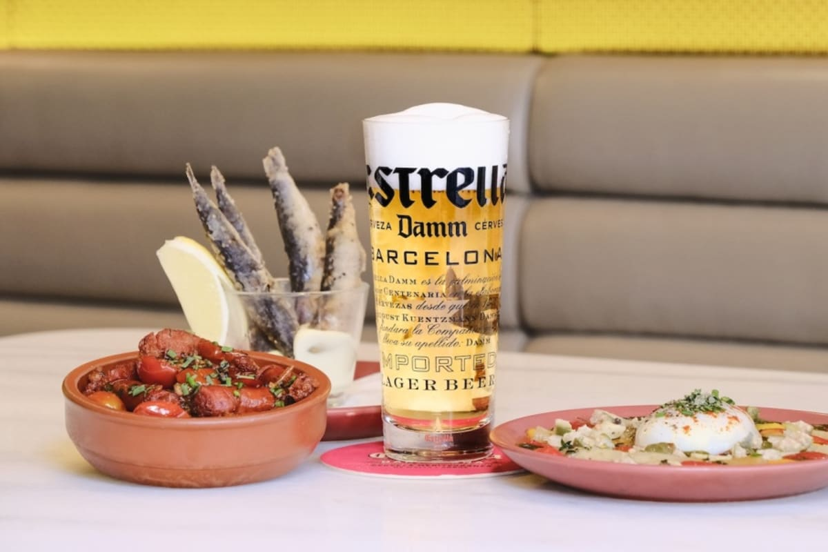 Tour through Spain, Europe and Asia's World of Tapas with Estrella Damm
