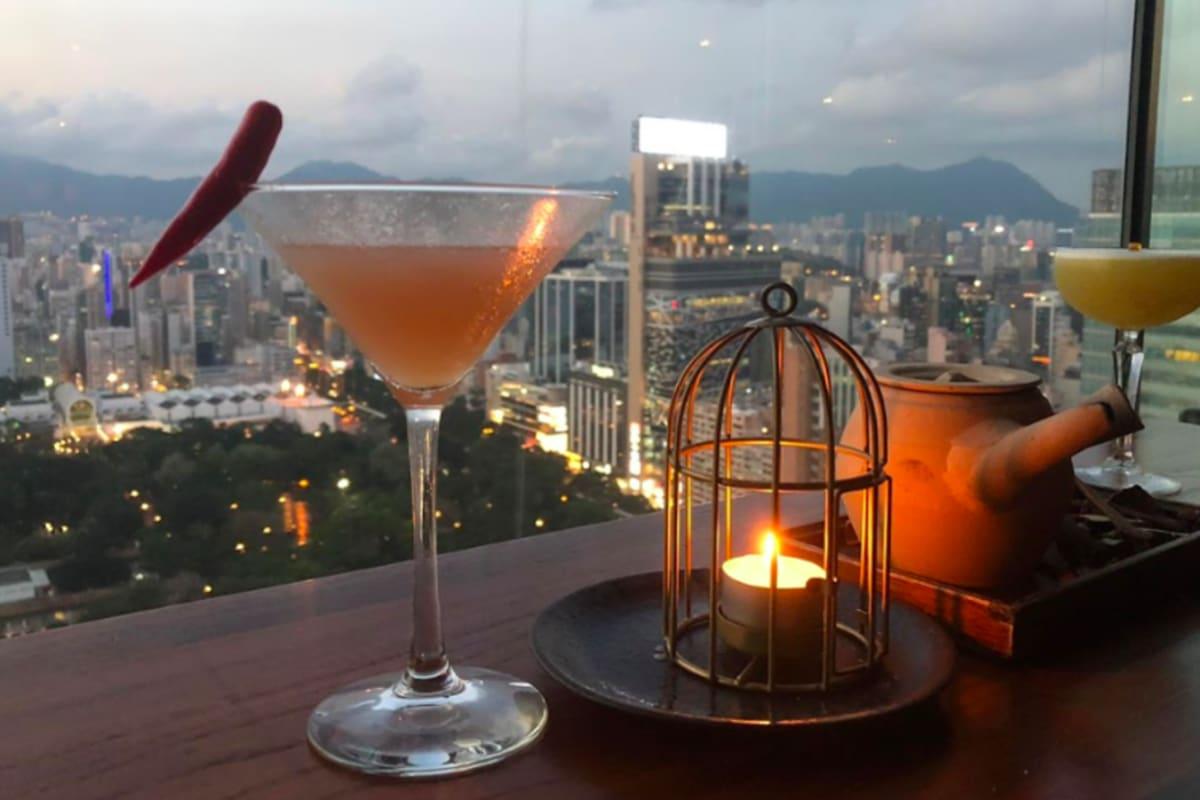 Hutong's Spring Elixir Cocktails