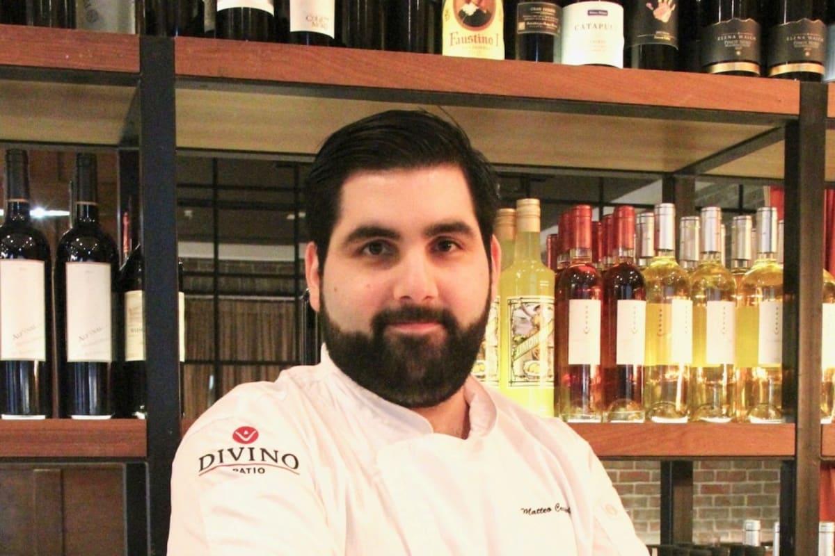 Welcoming Chef Matteo Caripoli to DiVino Patio