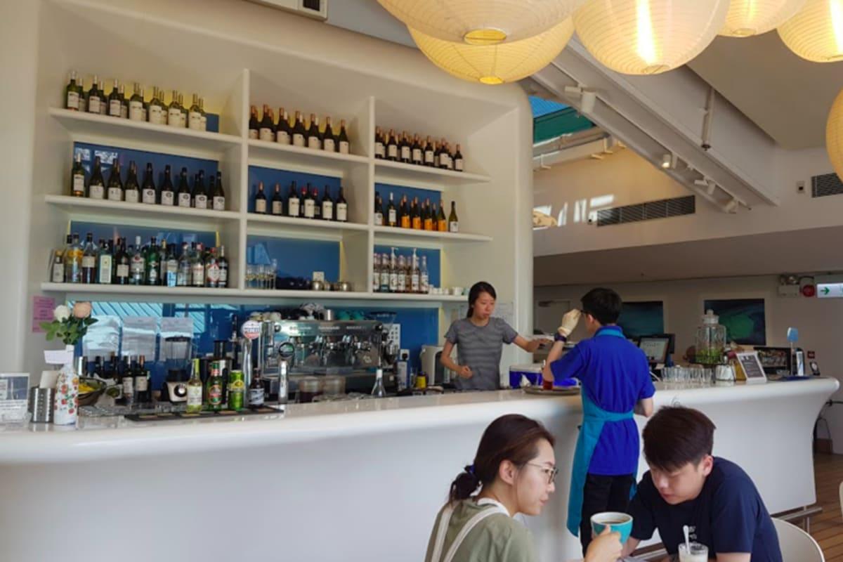 Café 8: Happy Hour at Hong Kong's Sunniest Café