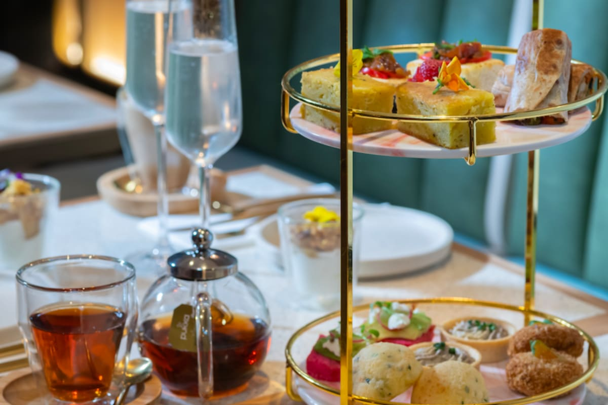 WATCH: High Chai Afternoon Tea at VEDA