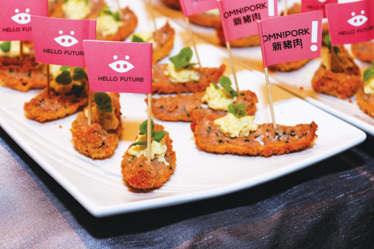 Innovation Showcase at the Food's Future Summit 2019