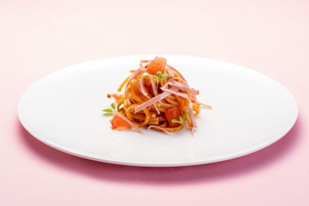 Recipe: Spaghetti all'Amatriciana with Mortadella Bologna PGI