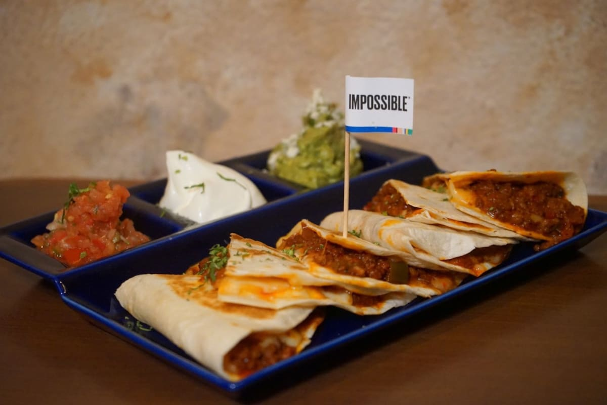 New Dishes Featuring Impossible Meat at Agave