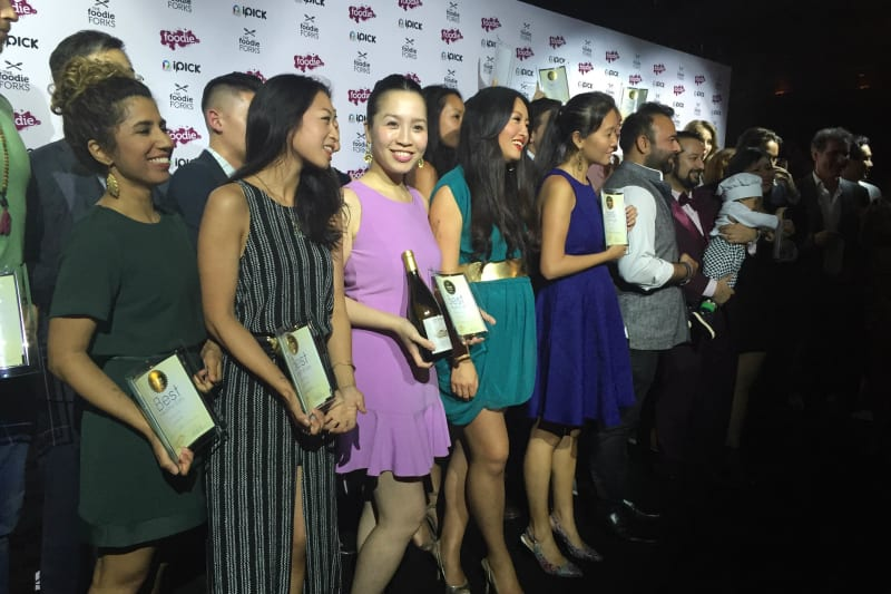 The Foodie Forks Winners for 2015