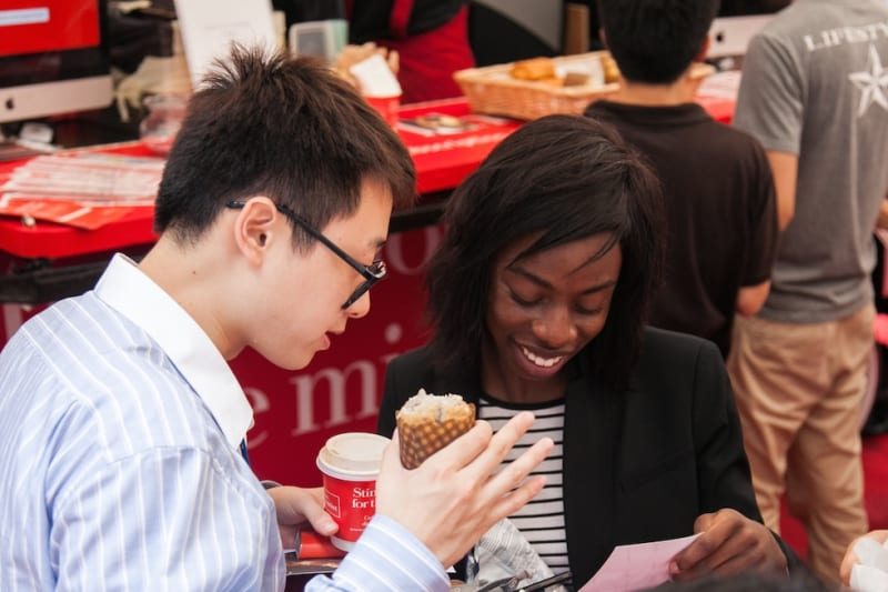 How to Best Navigate the Food for Thought Event
