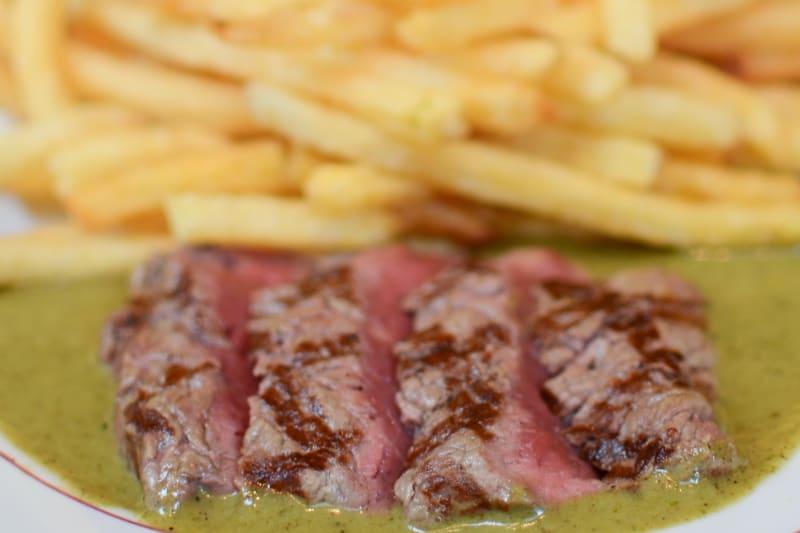 Steak Frites at Le Relais De l'Entrecôte