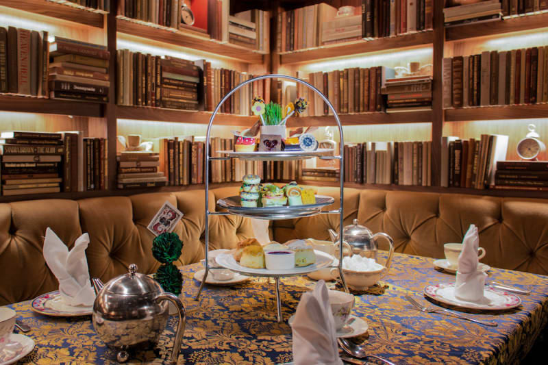 Mad Hatter Afternoon Tea at Fairmont Hotel Vancouver